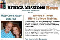 Africa Missions News for May