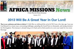 Click to open January 2013 Newsletter