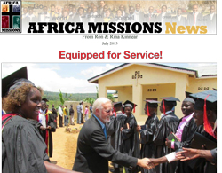 July 2013 Africa Missions News